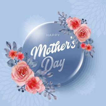 Fundo de celebração internacional adorável feliz dia da mulher