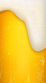 Fundo de cerveja lager