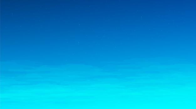 Fundo de céu azul, design de conceito de quadrinhos