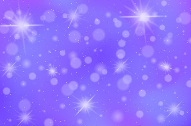Fundo de céu pastel de conto de fadas mágico