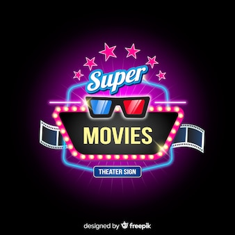 Fundo de cinema super