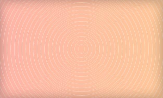 Fundo de círculo geométrico abstrato com gradiente de cor pastel. modelo de design moderno suave