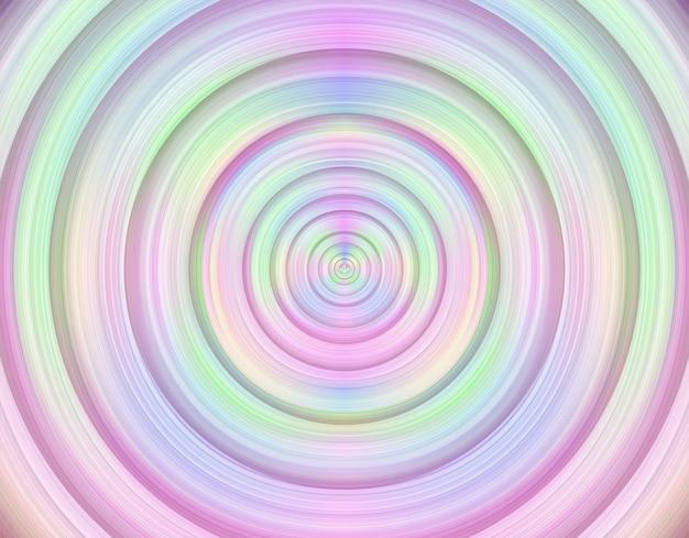 Fundo de círculo vibrante abstrato multicolorido