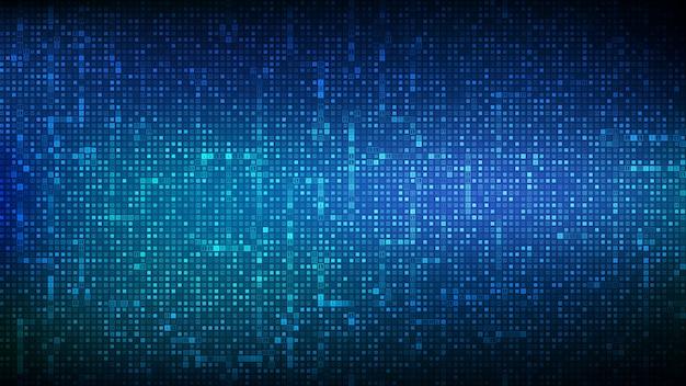 Fundo de código binário. dados binários digitais e streaming de fundo de código digital.