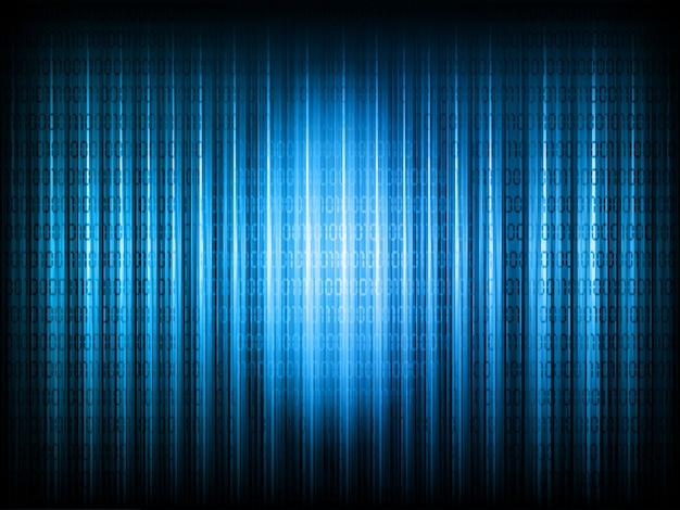 Fundo de código binário