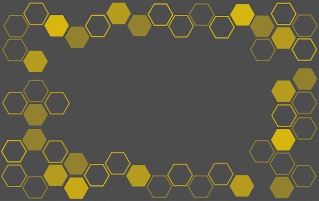 Fundo de colméia de abelhas