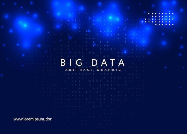 Fundo de computação quântica. tecnologia para big data, visualização, inteligência artificial e aprendizado profundo. modelo de design para o conceito de rede. cenário de computação quântica futurista.