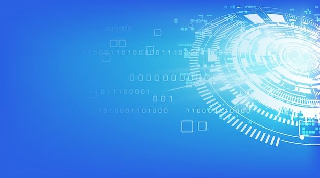 Fundo de comunicação tecnologia abstrata