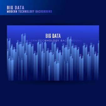 Fundo de conceito de grande volume de dados