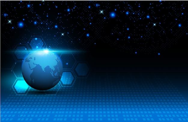 Fundo de conceito de inovação de tecnologia