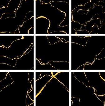 Fundo de conceito de luxo abstrato dourado