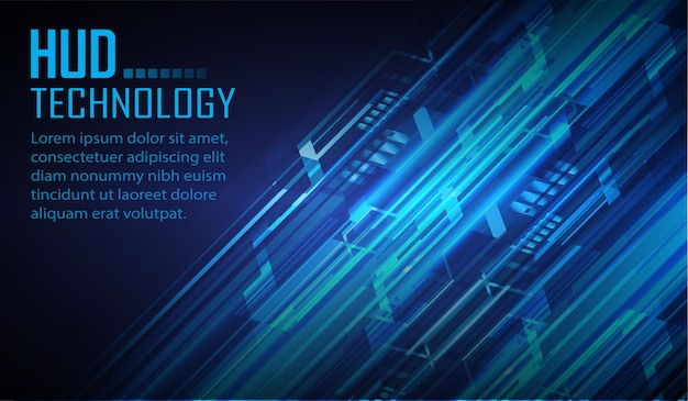 Fundo de conceito de tecnologia futura de circuito cibernético cadeado fechado em fundo digital