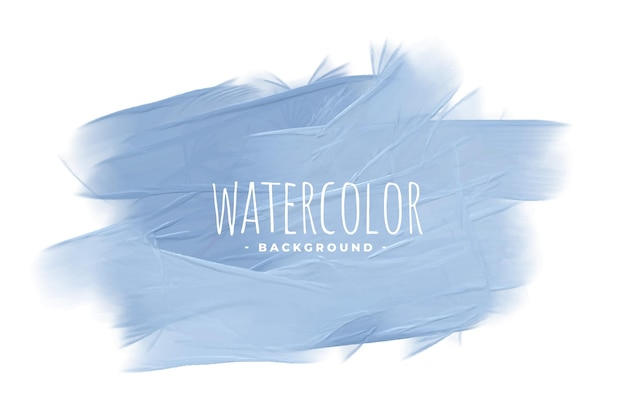 Fundo de conceito de textura aquarela azul pastel