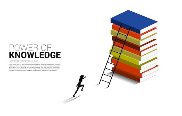 Fundo de conceito para poder de conhecimento.