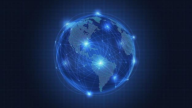 Fundo de conexão de rede global