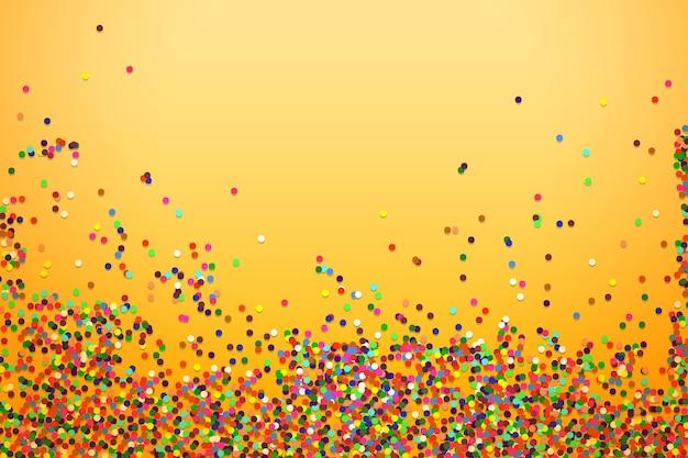 Fundo de confete colorido