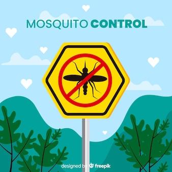 Fundo de controle de mosquito