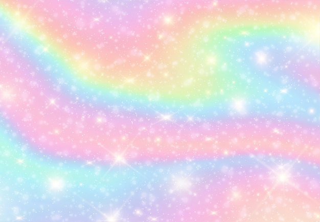 Fundo de cor abstrata arco-íris líquido