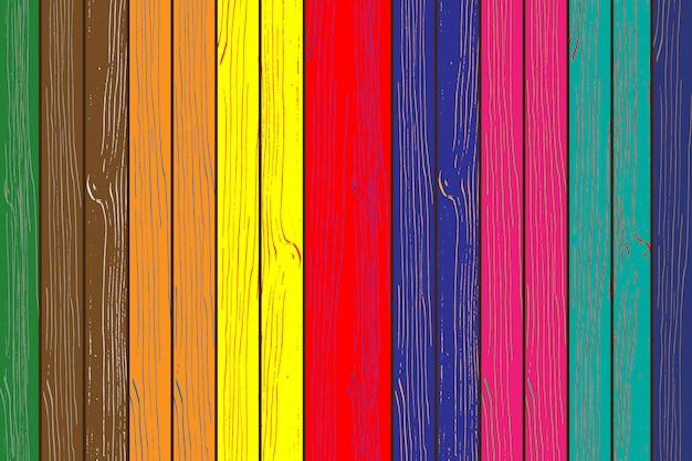 Fundo de cor de textura de madeira