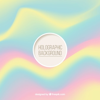 Fundo de cor holográfica