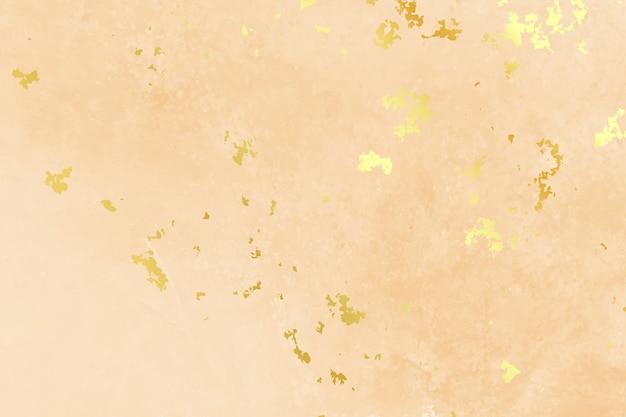 Fundo de cor pastel com textura de folha de ouro