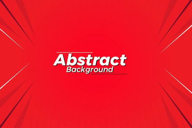 Fundo de cor vermelha criativa abstrata