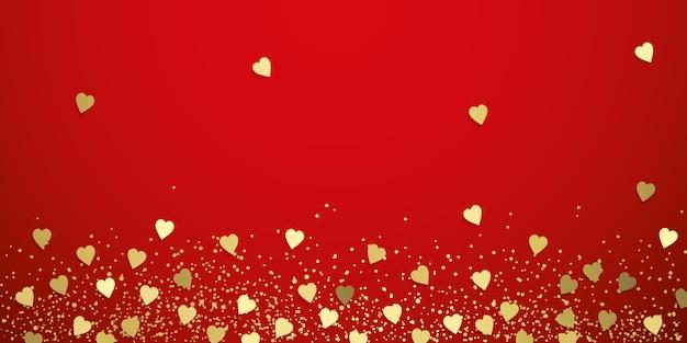 Fundo de corações de amor
