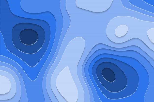 Fundo de corte de papel geométrica