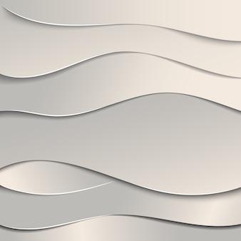 Fundo de corte de papel ondulado