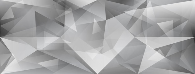 Fundo de cristal abstrato com refração da luz e realces em cores cinza