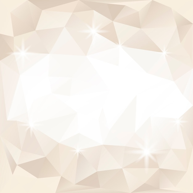 Fundo de cristal bege e branco texturizado