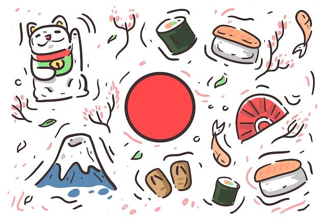 Fundo de cultura do japão