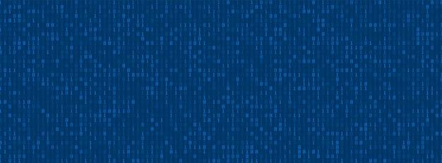 Fundo de dados de código binário digital, números de computador, conceito tecnológico