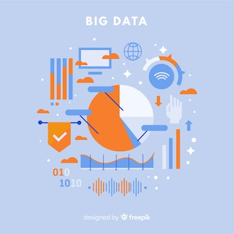 Fundo de dados grandes de estatísticas