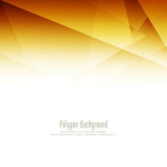 Fundo de desenho de polígono brilhante abstrato