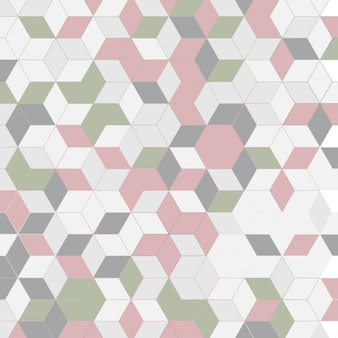 Fundo de design abstrato de estilo escandinavo