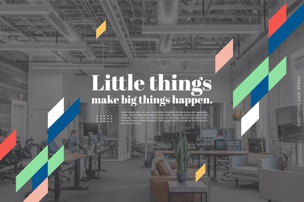 Fundo de design de slides