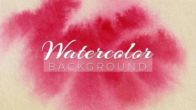 Fundo de design elegante moderno abstrato aquarela lago carmesim