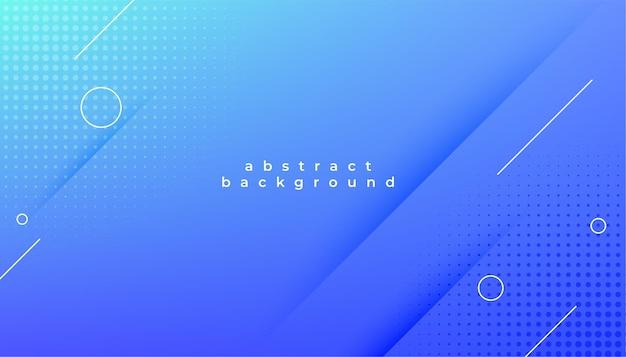 Fundo de design elegante moderno abstrato azul