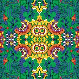 Fundo de design floral lindo quadro completo