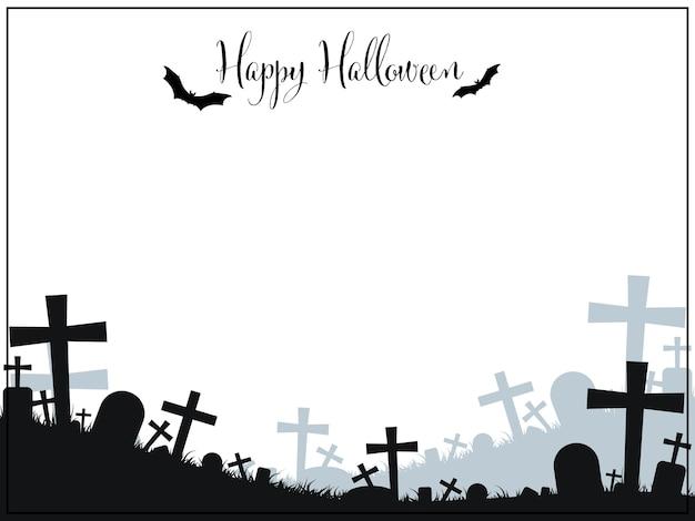 Fundo de dia das bruxas com texto feliz dia das bruxas.