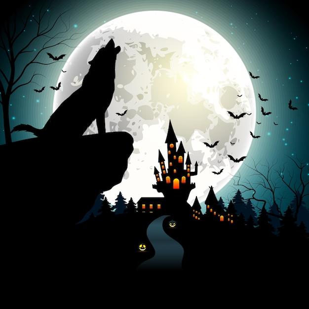 Fundo de dia das bruxas