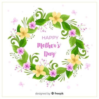 Fundo de dia das mães floral