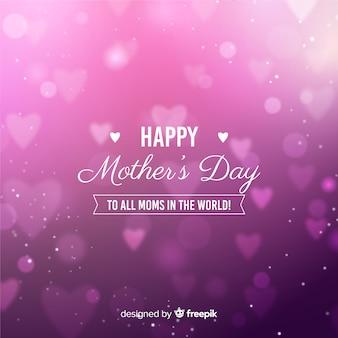 Fundo de dia das mães turva