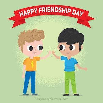 Fundo de dia de amizade com melhores amigas