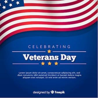 Fundo de dia dos veteranos