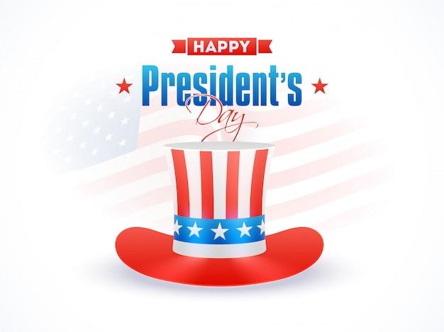 Fundo de dia feliz presidente.