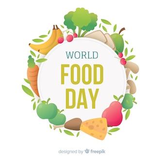 Fundo de dia mundial da comida