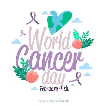 Fundo de dia mundial do câncer