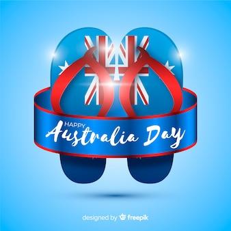 Fundo de dia realista da austrália